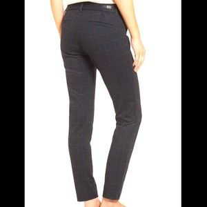 Kut from the Kloth Mia Ankle Skinny Plaid Pants